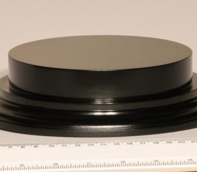 Black Plinth Base 160mm x 25mm