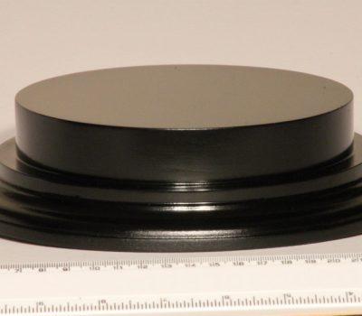 Black Plinth Base 160mm x 25mm