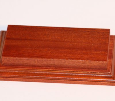 Raised Top rectangular Base Mahogany 80 x 175