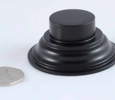 Black Plinth Base 30mm x 12mm