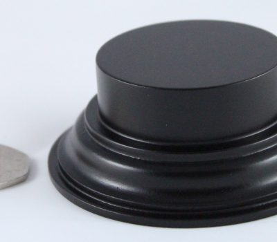 Black Plinth Base 50mm x 15mm
