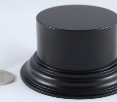 Black Plinth Base 75mm x 33mm