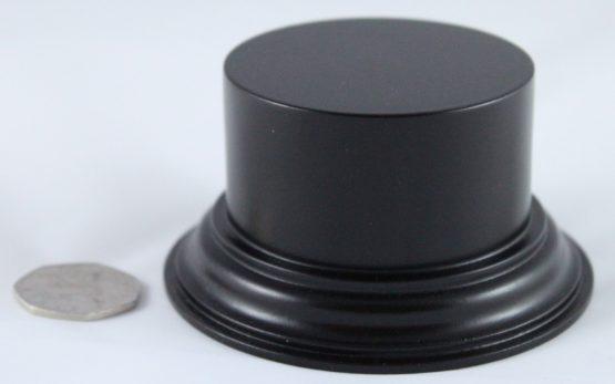 Black Plinth Base 75mm x 33mm