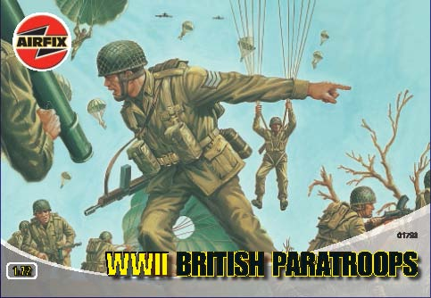 BRITISH PARATROOPERS WW2