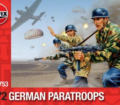 GERMAN PARATROOPS WW2