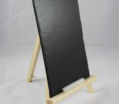 Rectangular Chalk Board on a Tripod Stand