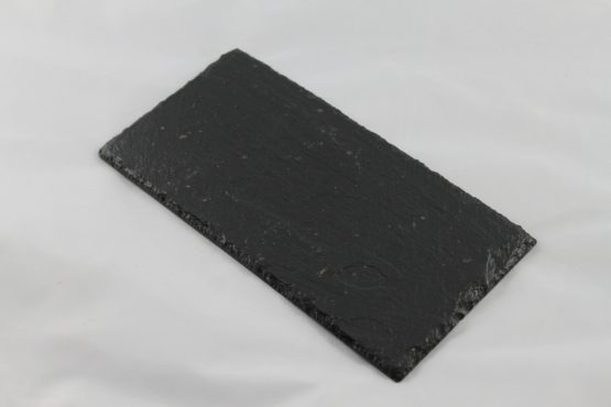 Set of Four Double Black Slate Coasters