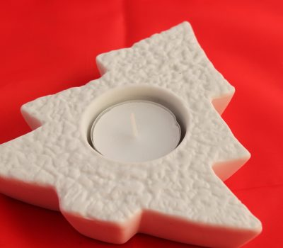 Tree Porcelain Tea Light holder