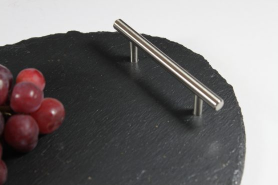 Small Black Slate Oval Tray