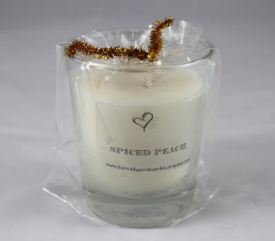 Spiced Peach - Candle In A Glass