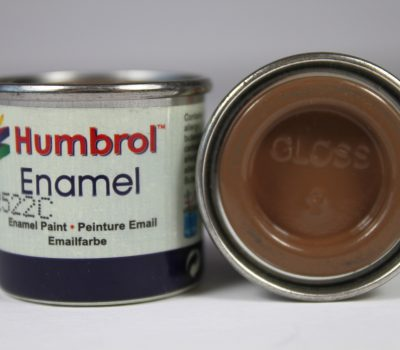 TAN GLOSS ENAMEL PAINT 14ml