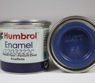 BLUE MATT ENAMEL PAINT 14ml