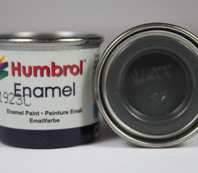 DARK GREY MATT ENAMEL PAINT 14ml