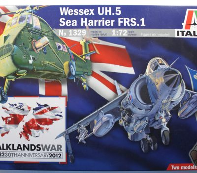 WESSEX UH.5 AND SEA HARRIER FRS.1 (FALKLANDS)