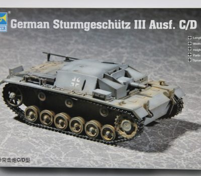 GERMAN STURMGESCHUTZ III AUSF C/D