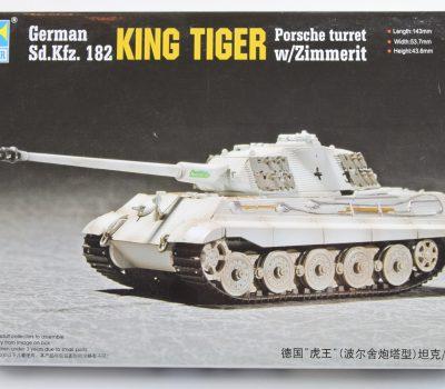 KING TIGER (PORSCHE TURRET) C/W ZIMMERIT