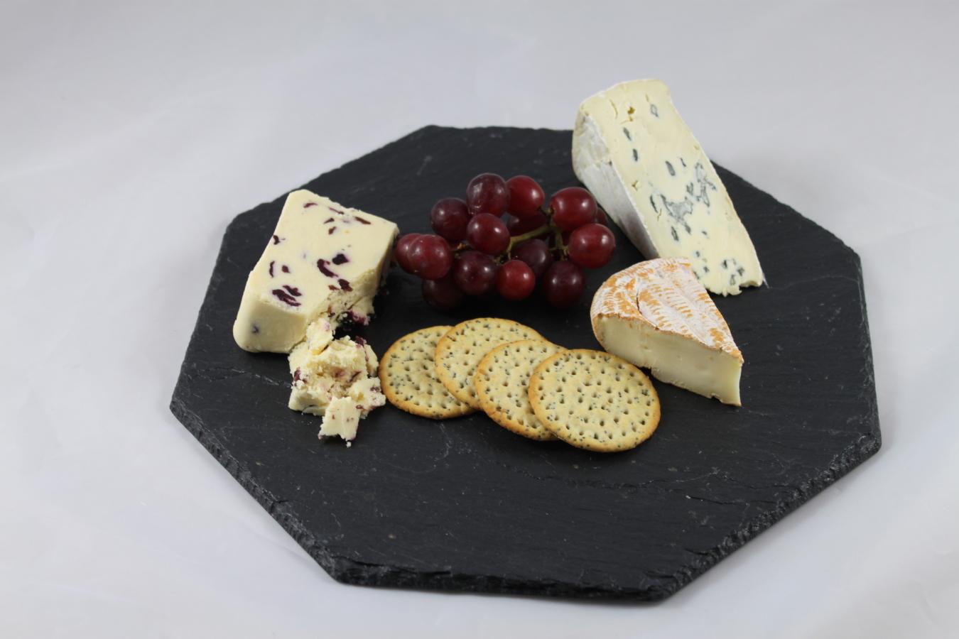 Octagonal Slate Cheese board