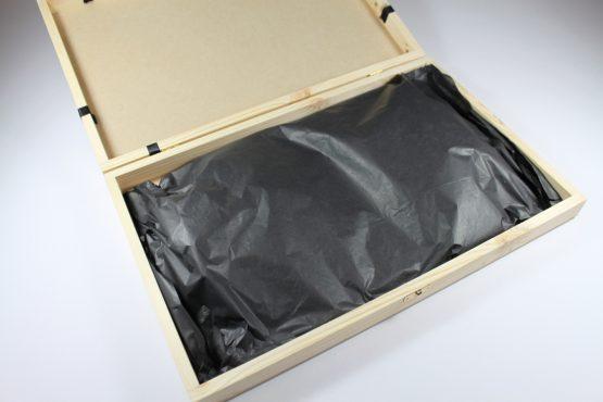 Medium Black Oval Slate cheeseboard
