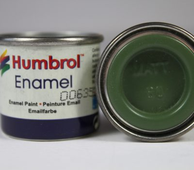 80 Grass Green Matt - 14ml Enamel Paint