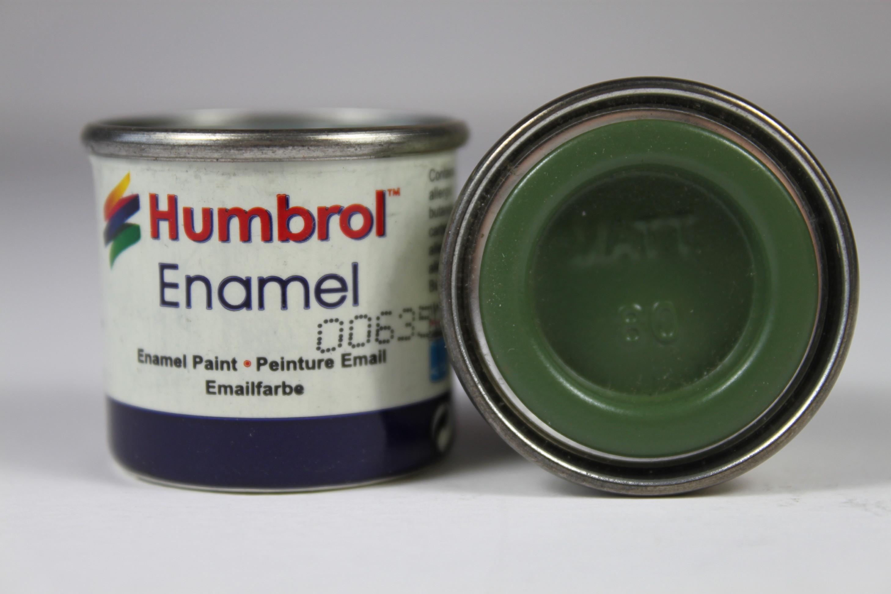 80 Grass Green Matt - 14ml Enamel Paint