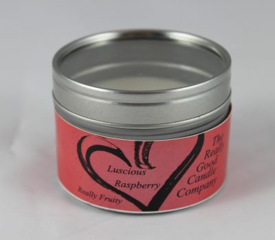 Luscious Raspberry - Candle in a Small Tin