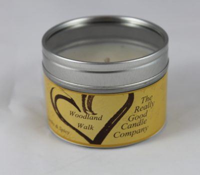 Woodland Walk -  Candle in a Small tin