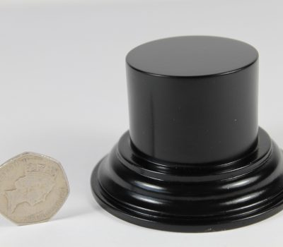 Black Plinth Base 45mm x 33mm