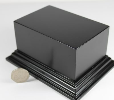 Black Oblong Plinth Base