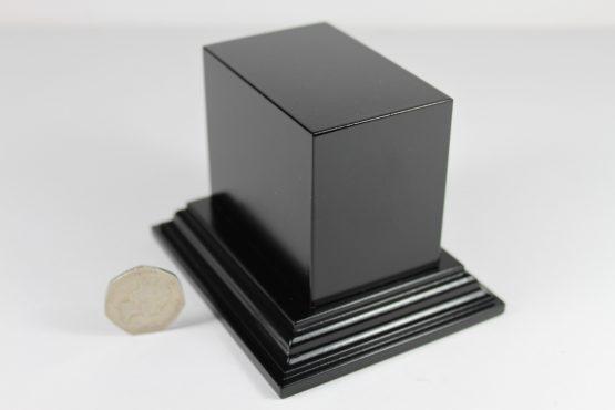 Black Oblong Plinth Base
