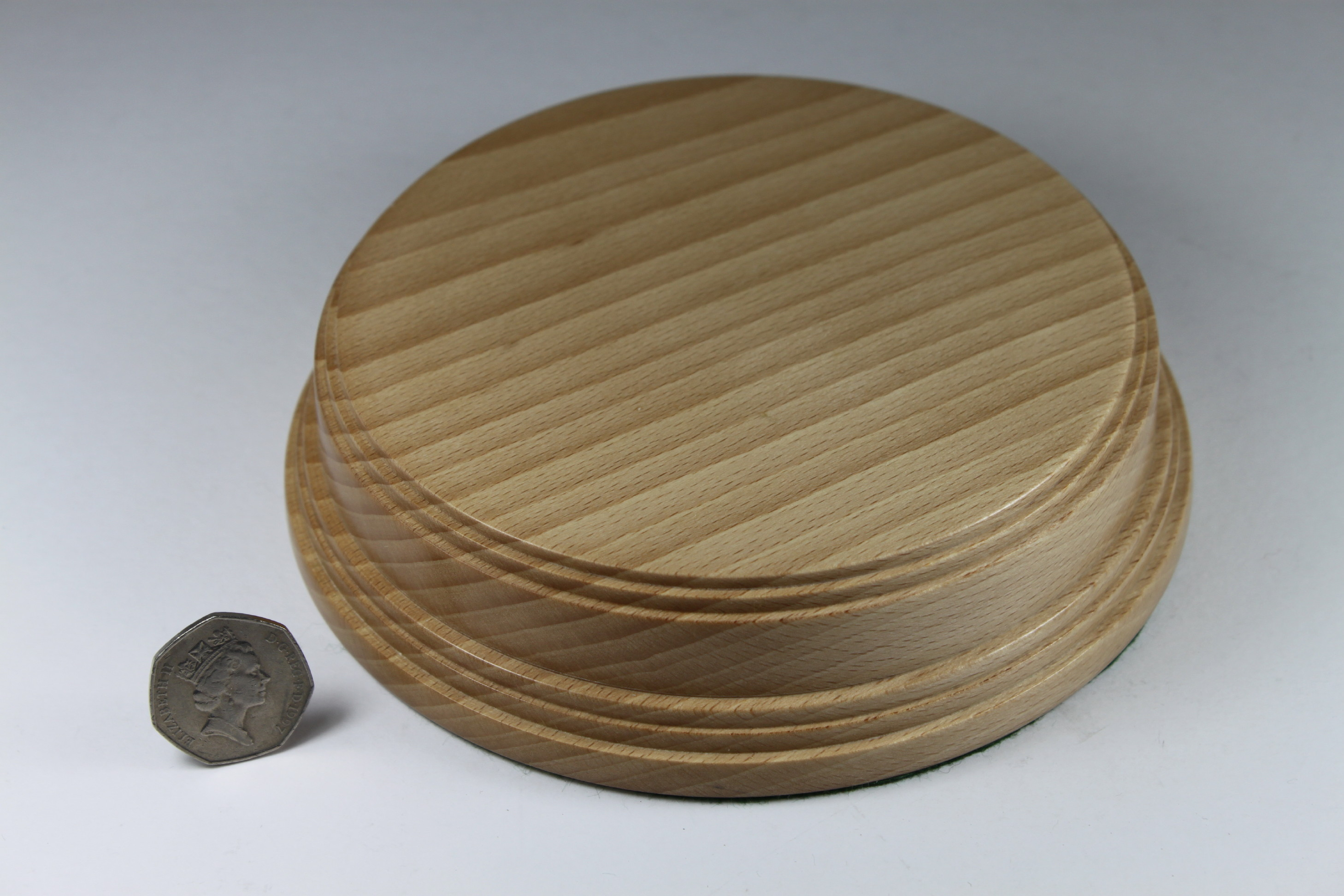 Ash Model Base 40mm High with a Display area of 140mm