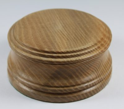 Solid Oak Model / Trophy Base 55mm High With A Display Area Of 84mm