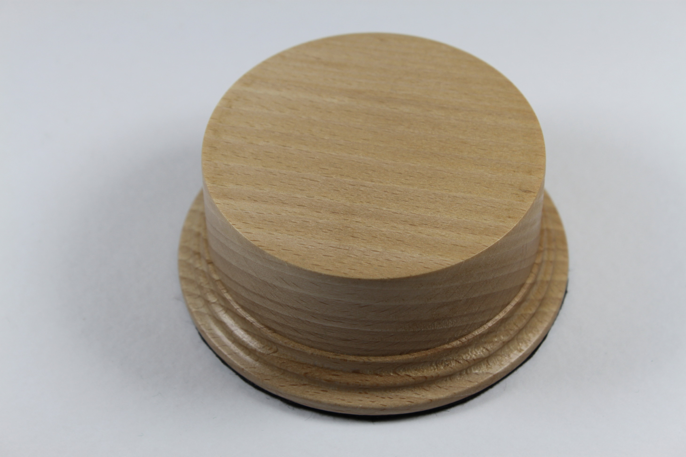 A Beech Model / Trophy Base 40mm High with a display area of 78mm