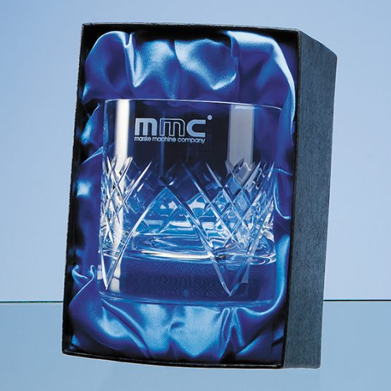 Single Whisky Satin Lined Presentation Box