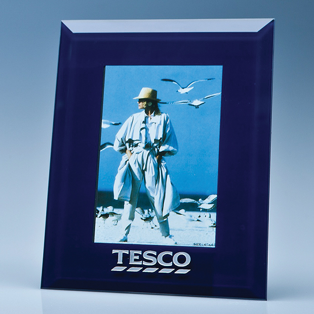 Navy Surround Glass Frame for 4inch x 6inch Photo  H or V