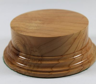 Cherry Display Plinth 90mm diameter x 40mm high