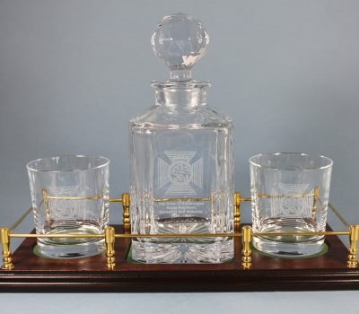The Duke Of Edinburghs Royal Regiment Decanter Gift Set