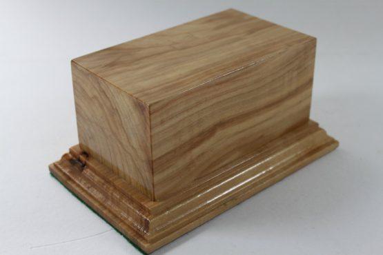 Ash Square Plinth 130mm x 75mm x 60mm High