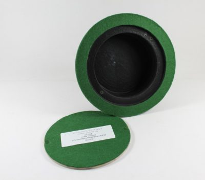 Black Plinth Base 150mm x 44mm Hollow