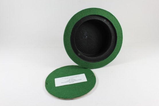Black Plinth Base 150mm x 44mm Hollow