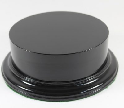 Black Plinth Base 150mm x 44mm Solid