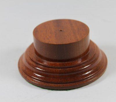 Mahogany Plinth Base 45mm x 15mm