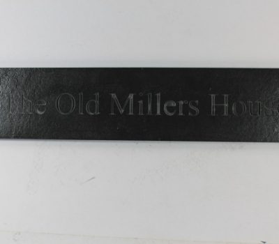 Deep Engraved Slate House name plate 400mm x 90mm x 10mm
