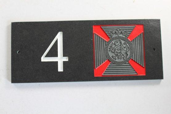 The Duke Of Edinburghs Badge House Name plate 300mm x 120mm x 10mm