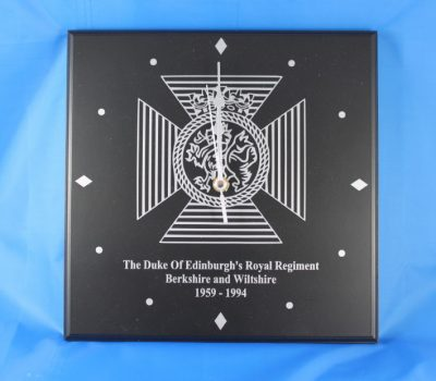 The Duke Of Edinburgh's Royal Regiment Wall Clock