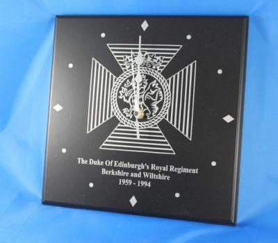The Duke Of Edinburgh's Royal Regiment Wall Clock