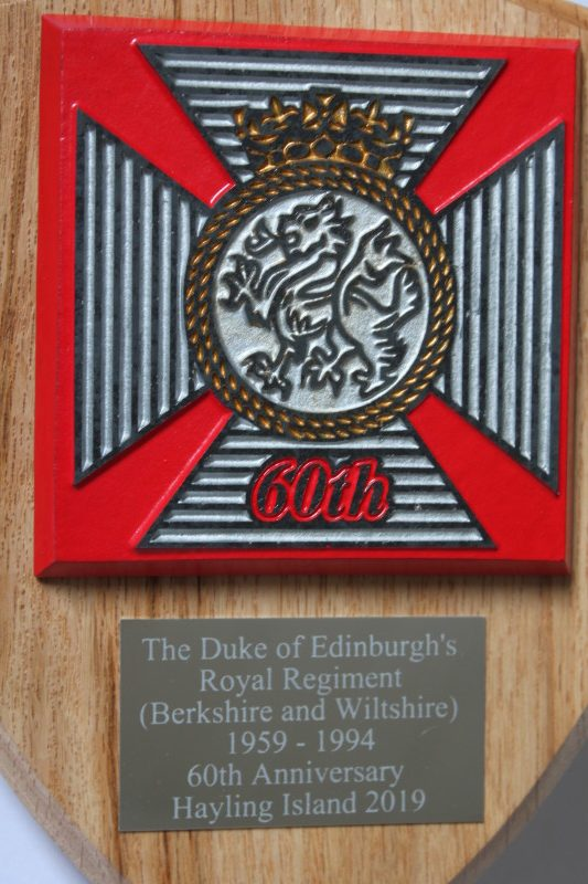 DUKE OF EDINBURGH/'S ROYAL REGIMENT LARGE COASTER