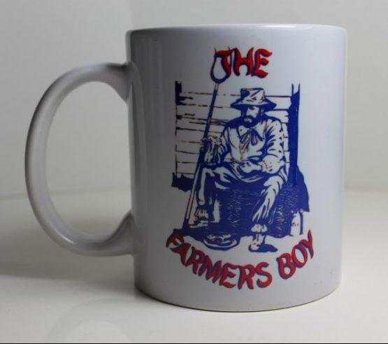 11oz Mug with Dukes badge and Farmers Boy logo
