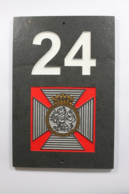 The Duke Of Edinburgh's Badge House Name plate 300mm x 200mm x 10mm
